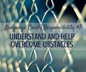 Language Coach Responsibility #7